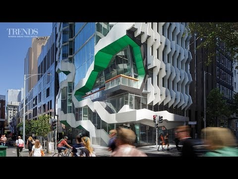 Commercial office building in Melbourne