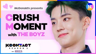 [KCON STUDIO x McDonald's] McDonald's Presents Crush Moment with THE BOYZ♥