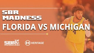 Florida vs Michigan NCAAB Picks and Predictions | College Basketball Betting Tips | SBR Madness