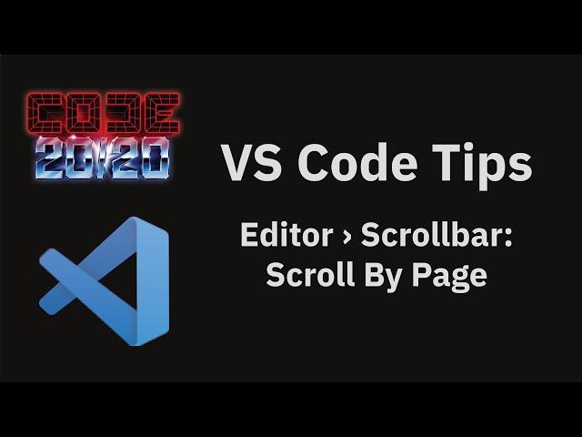 Editor › Scrollbar: Scroll By Page