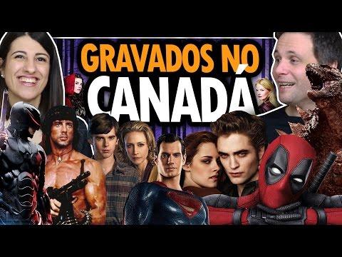 SÉRIES e FILMES FAMOSOS GRAVADOS em VANCOUVER no CANADÁ e você provavelmente NÃO SABIA