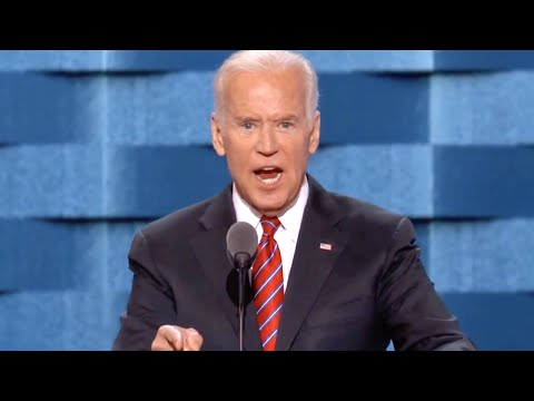 Vice President Joe Biden's Full 2016 Democratic National Convention Speech