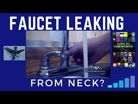 how-to-fix-a-faucet-that-is-leaking-from-the-neck