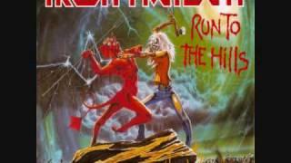 Gambar cover Iron Maiden-Run To The Hills (Lyrics)