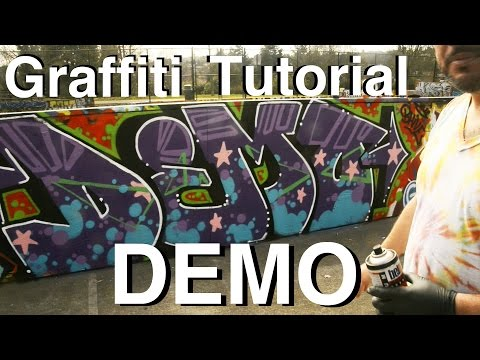 ArtPrimo.com: Graffiti Tutorial DEMO