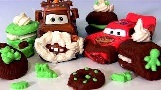 PlayDoh Mater Pranks Lightning McQueen Eating Cookies from Santa Disney Pixar Cars Christmas Prank thumbnail