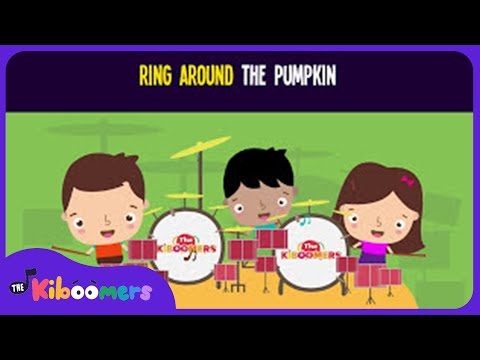 Ring Around the Pumpkin Song for Kids | Dance Song for Kids | The Kiboomers