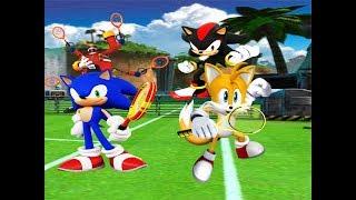 Sonic plays Sega Superstar Tennis Tournament Mode