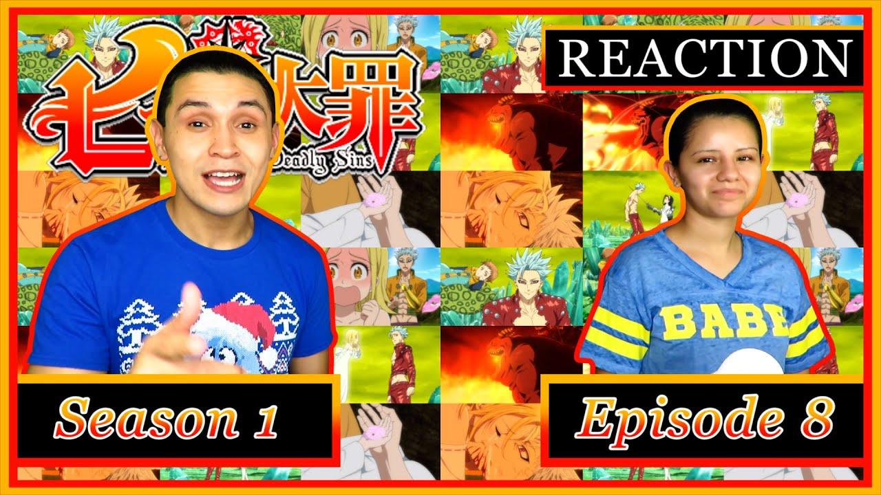 "Download ""The Fearsome Pursuer"" | The Seven Deadly Sins: Season 1, Episode 8 - YesiJai REACTION!"
