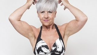 Grandmother, 55, transforms from 'fat and frumpy' to bikini model after her divorce by lifting weigh