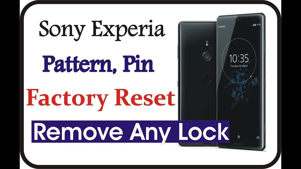 Sony xperia reset tool