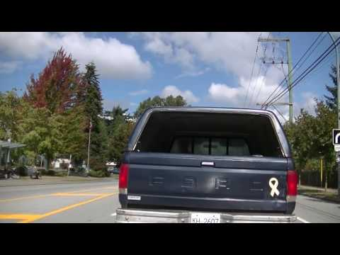 Driving in Surrey, British Columbia (BC), Canada - 132nd Street - Life in the City - Jazz BGM