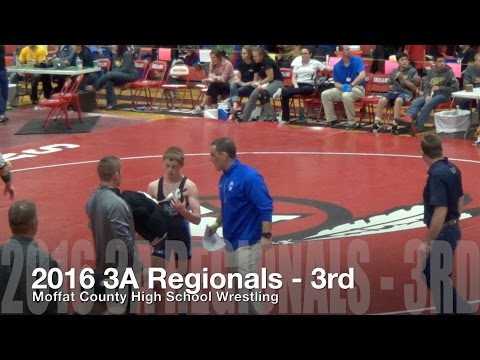 Moffat County High School Wrestling 2016 3A Regionals - GO