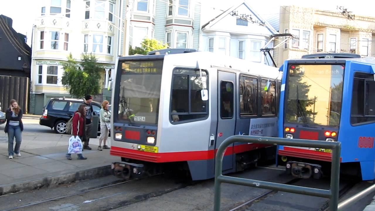 N Owl Muni San Francisco Muni Metro N Judah @ S...