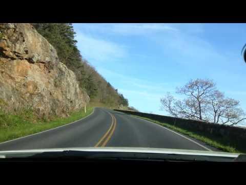 Skyline Drive,  Blue Ridge Mountains of Virginia