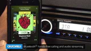 Sony MEX-M70BT Display and Controls Demo | Crutchfield Video