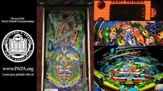 Gambar cover FISH TALES Pinball Machine (Williams 1992)- PAPA Video Tutorial (Part 1)