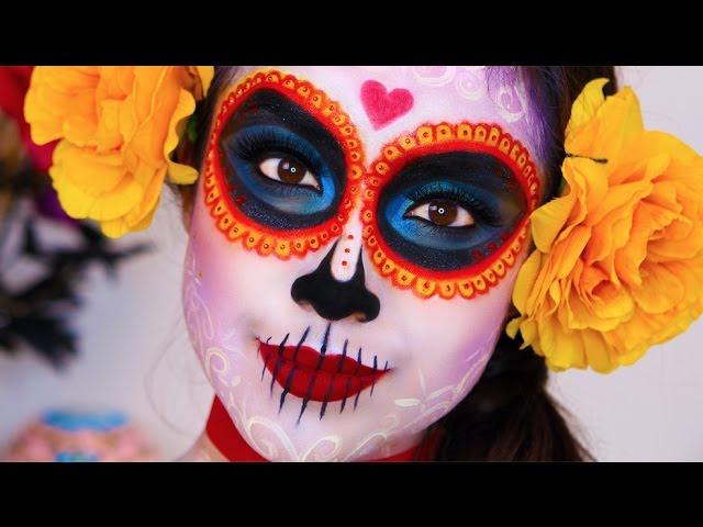 7 Gorgeous Dia De Los Muertos Makeup Ideas - Easy Day of the Dead Sugar Skull Tutorials