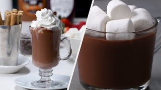 Gourmet Hot Chocolate Recipes To Warm You Up • Tasty