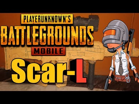 How To Make SCAR-L From PUBG-MOBILE| DIY |