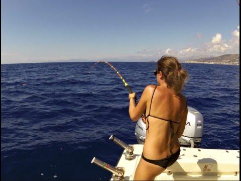 Tanto divertimento a pesca.