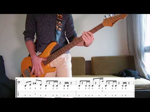 Incubus - A Certain Shade Of Green Bass cover with tabs