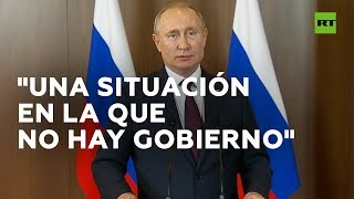 ¿Qué piensa Putin cuando mira lo que sucede en Bolivia?