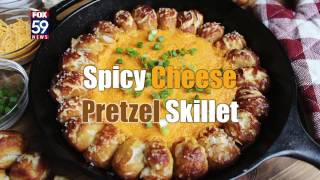 Spicy Cheese Pretzel Skillet is the MVP of Super Bowl dips