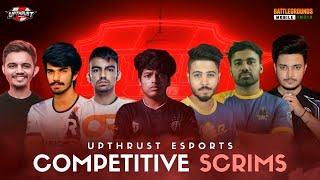 Upthrust Esports BGMI Scrims |FEAT:- TSM, IND,F1-LS, RedOwL,7Sea, SkyLightz ,Hydra|