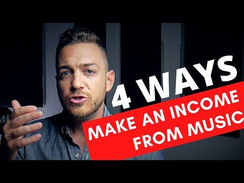 4 Ways To Make An Income From Music – RecordingRevolution.com