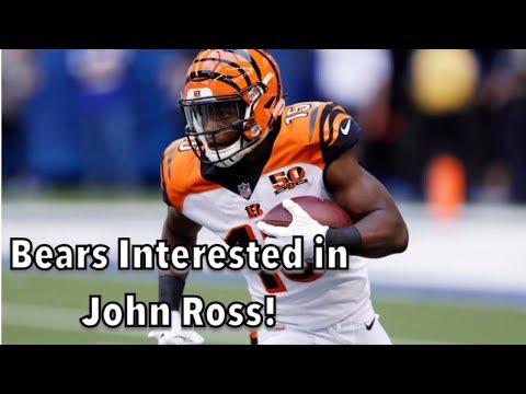 Chicago Bears Interested in Trading for John Ross! NFL Trade Rumors!
