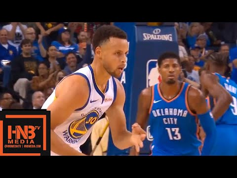 Golden State Warriors vs Oklahoma City Thunder 1st Half Highlights | 10.16.2018, NBA Season