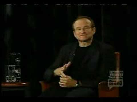 Robin Williams - Impersonation of a Smart Kid