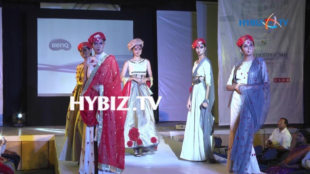 Nift Fashionova 2017 Fashion Show Hyderabad Hybiz Youtube