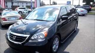 2010 Honda Odyssey Touring Walkaround, Start up, Tour and Overview