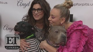 Kaley Cuoco 'Stands Up For Pits' At Hollywood Tour Stop