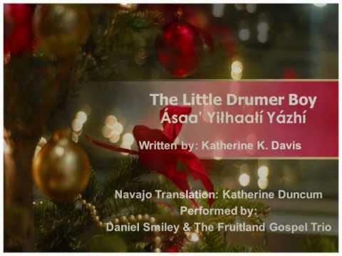 Little Drummer Boy (Navajo Lyrics) - YouTube