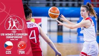 Czech Republic v Turkey - Full Game - FIBA U16 Women's European Championship 2019