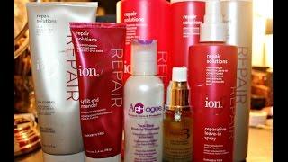 Hair damage Ion repair