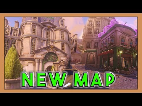 Seagull Checking Out The New 'Paris' Map! - Overwatch