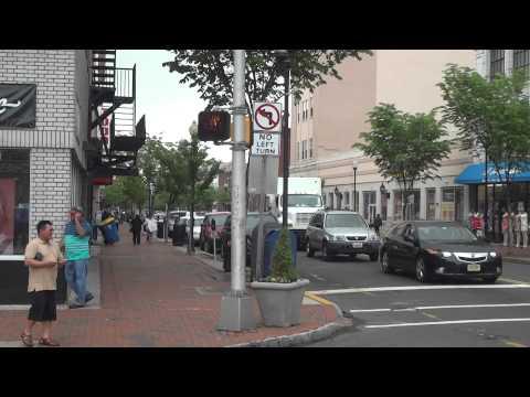 Downtown of Perth Amboy City - NJ - USA.