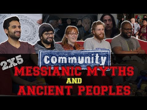 Community - 2x5 Messianic Myths and Ancient Peoples - Group Reaction