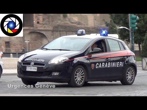 Carabinieri responding in Rome