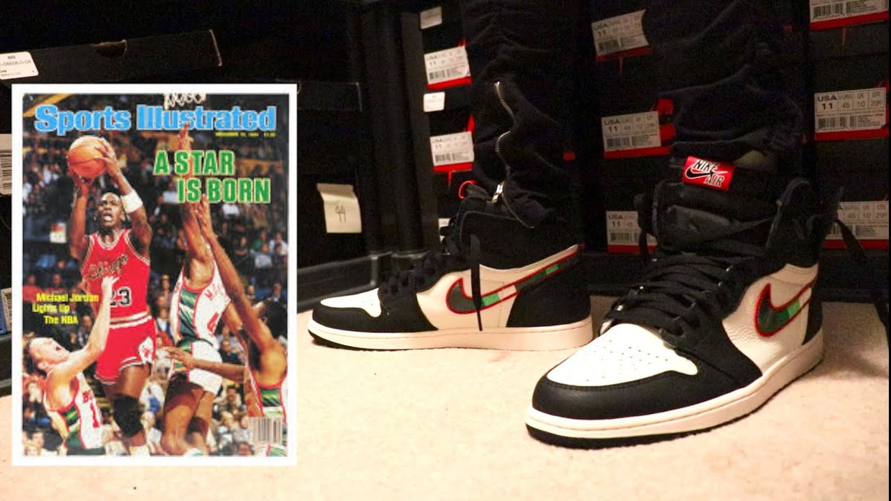 ae549c8b5ac EARLY REVIEW AND ON FEET OF THE AIR JORDAN RETRO 1 SPORTS ILLUSTRATED AKA