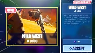 New WILD WEST LTM & DYNAMITE GAMEPLAY in Fortnite!