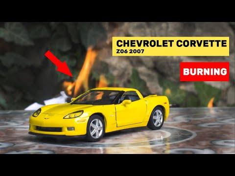 My Summer Car - Chevrolet Corvette  горящая модель игрушки обзор