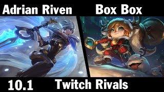 [ Adrian Riven ] Riven vs Poppy [ Box Box ] Top - Twitch Rivals