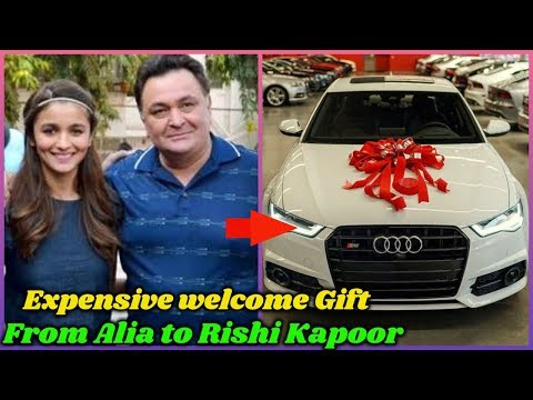 Alia Bhatt's Expensive Welcome Gift For Rishi Kapoor Mp3