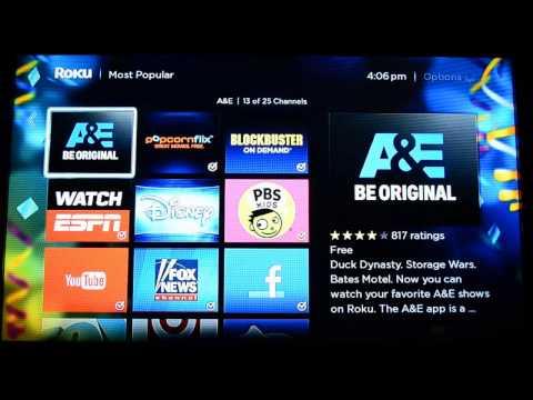 Roku 3 Streaming Media Player Free TV