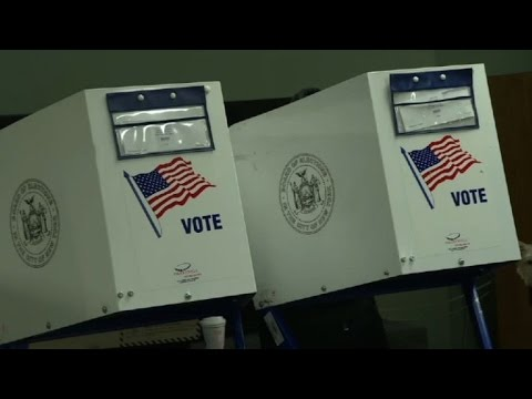 Polls open in New York for pivotal US presidential election